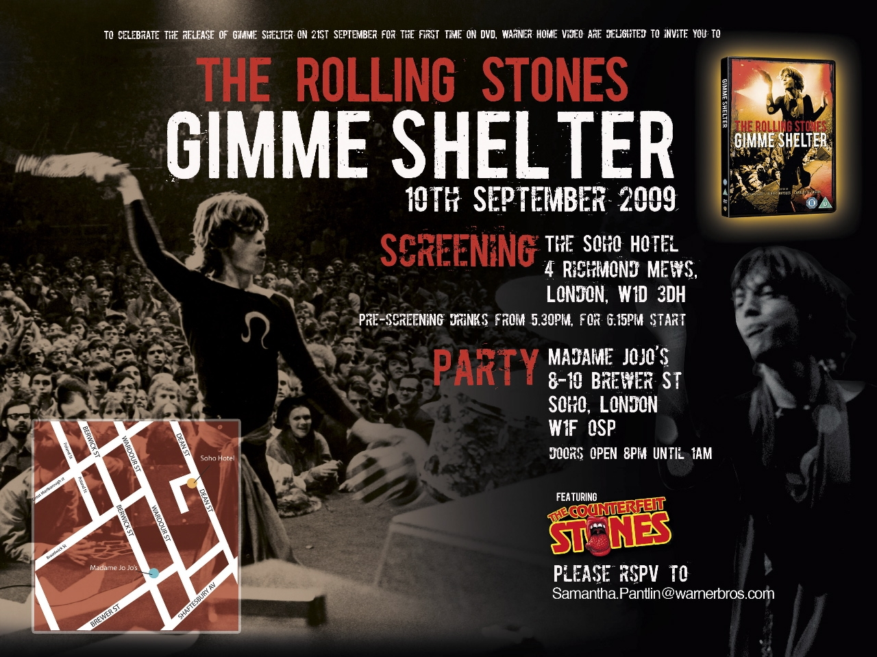 gimme shelter � the movie only rock n roll
