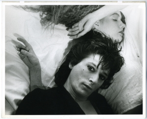Johnny Thunders and Suzanne Blomqvist #2 - Marcia Resnick