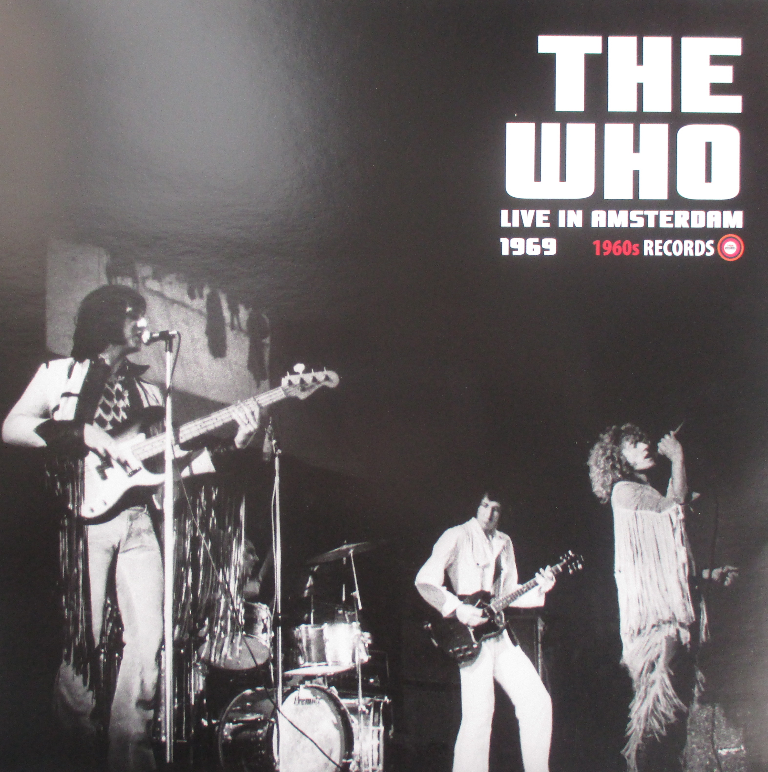 Live In Amsterdam 1969 The Who Only Rock N Roll