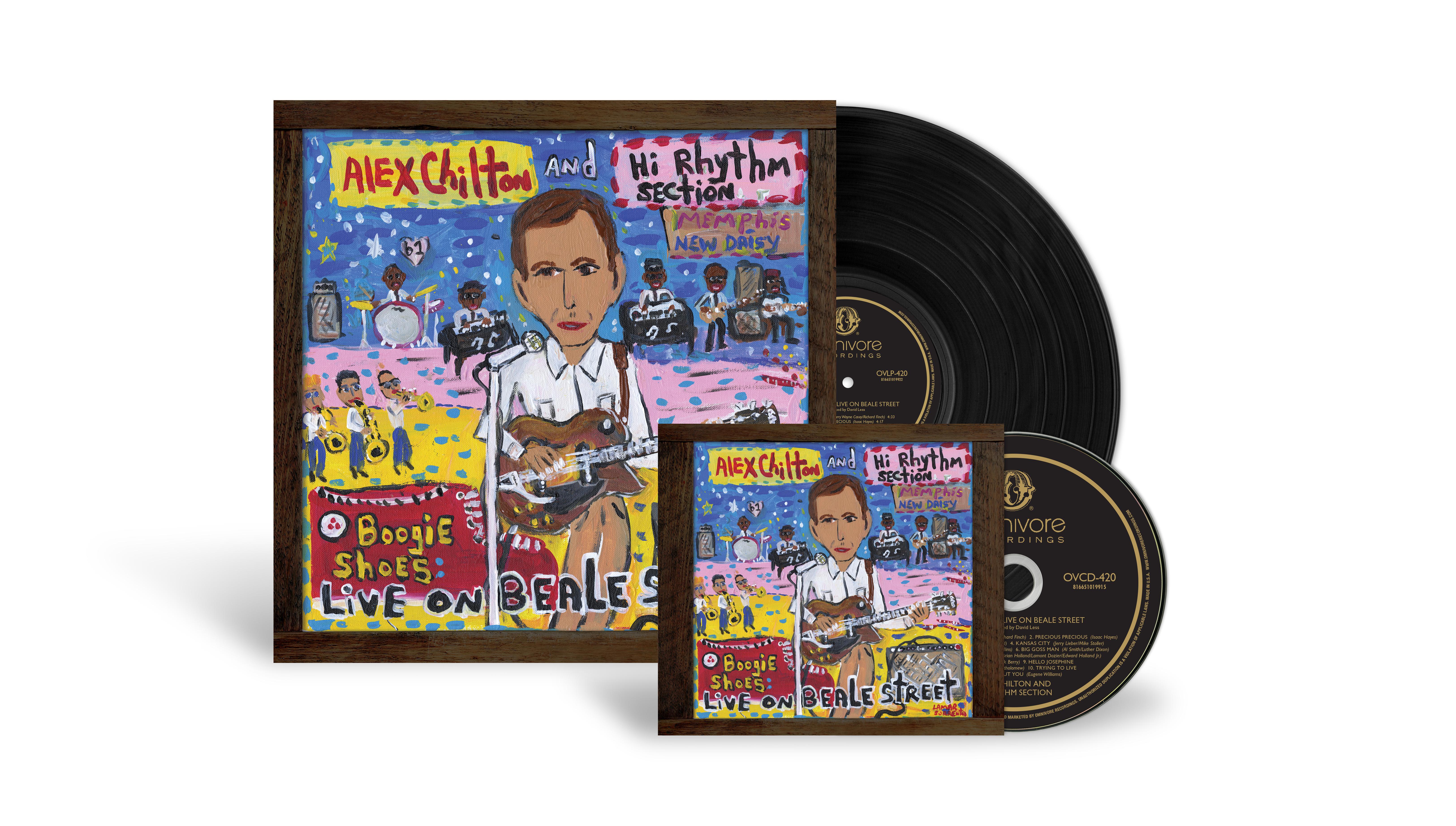 Alex Chilton - Boogie Shoes LP - CD